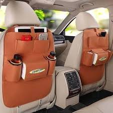 fashion car back seat organizer holder ceiling multifunction travel storage bag hanging bag
