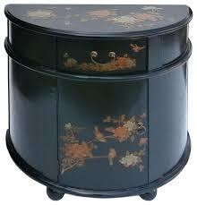 black half moon console table. Delighful Table Black Half Moon Table Entryway  Decorating Ideas  Intended Black Half Moon Console Table