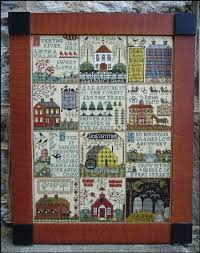 Soie D Alger To Dmc Conversion Chart Carriage House Samplings Counted Cross Stitch Charts And