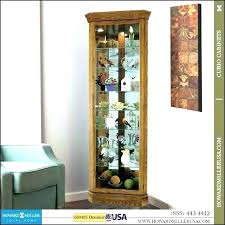 used curio cabinets for modern glass cabinet full size of corner contemporary used curio cabinets for