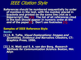 Details Of The Citations Styles Ppt Download