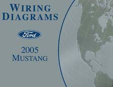 ford mustang other parts 2005 ford mustang wiring diagrams schematics drawings color codes factory oem