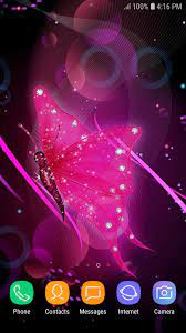 Glitter Butterfly Wallpaper for Android ...