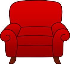 chair clipart. red armchair clip art chair clipart u