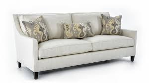 Living Room Furniture Belfast Miles Talbott Lincoln Contemporary Two Cushion Sofa With Framed