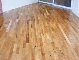 oak 3 common utiity grade living room scene prefinished