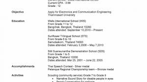 High School Sample Resume Resume Examples For High School Graduate Templates Highschool 84