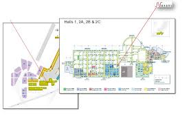 nexans exhibits at the international paris air show 2011 le paris air show floor plan