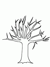 Small Picture Tree Trunk Coloring Page Coloring Home