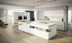 Moderne Küche Mit Kochinsel Und Bar Wohnzimmer Ideen