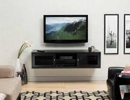 neat wall mount cabinet idea for tv