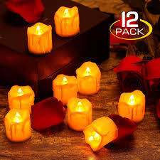 Benefits Of Candle Light Zerproc Warm Yellow Candle Lights Led Flameless Led Candle Lights With Battery Powered Wax Dripped Tea Lights Candles For Valentines Day Wedding