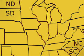 Image result for 1889 - North Dakota and South Dakota were admitted into the union as the 39th and 40th states.