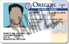 Id Services Department Sample Oregon State Motor Driver Licenses Transportation amp; Vehicle Of And Cards