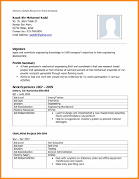 Sample Resume For Internship In Accounting In Malaysia Resume