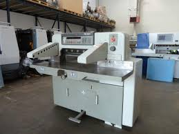 guillotines used finishing machines polar 76 em paper cutter for sale polar cutting machine