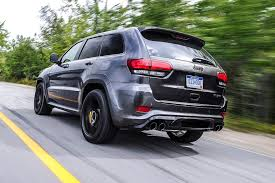 2018 jeep trackhawk colors. wonderful jeep the trackhawku0027s visual differences to an my15 grand cherokee are the yellow  brembo calipers and unique black chrome quad exhaust pipe in 2018 jeep trackhawk colors