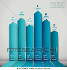 Financial Infographic Template Design Clipart K24054045