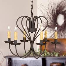handmade wrought iron chandeliers have been around for hundreds of years but a little over a hundred years ago one thing changed