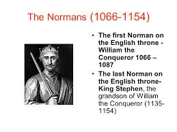 the national flag of england ppt  the normans 1066 1154 the first norman on the english throne william