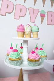 Karas Party Ideas Ice Cream Parlour Birthday Party Karas Party Ideas