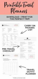 Personal Travel Itinerary Template - Google Search | The Sweet ...