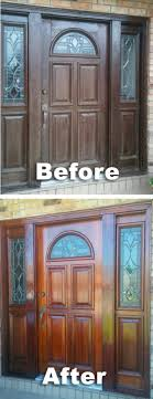 about door finishers restoration