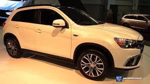 2018 mitsubishi asx interior. delighful interior 2018 mitsubishi outlander sport  exterior and interior walkaround debut  2017 new york auto show intended mitsubishi asx interior