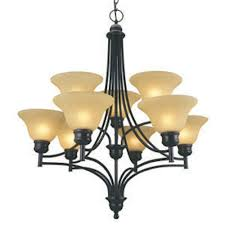 design house bristol 9 light chandelier oil rubbed bronze finish 512855