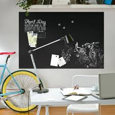 chalk board wall decal magnetic foil blackboard self adhesive home office  wall decals