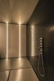 recessed lighting exciting interior bathroom wall. 1u recessed profile system by tal used in modern bathroom shower lighting exciting interior wall