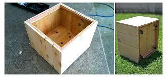 build large planter box woodworking build wood planter box large boxes flower centerpiece diy large cedar build large planter box