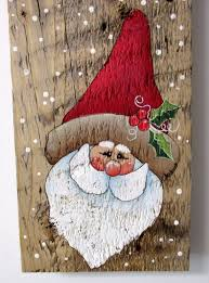 wood pallet painting ideas for christmas. welcome sign, sign with santa, hand painted on reclaimed barn wood\u2026 wood pallet painting ideas for christmas j