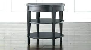 round bedside table with drawer bed side table with drawer appealing round bedside wood tables end