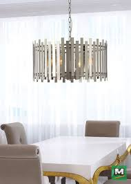 Patriot Lighting Drexel Collection Hunter Lighting Bardo Chandelier With Both A Chrome And