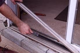 to replace a sliding glass door roller