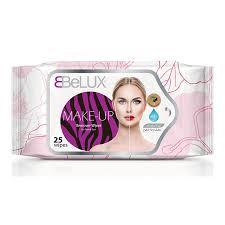 belux 25 makeup remover wipes