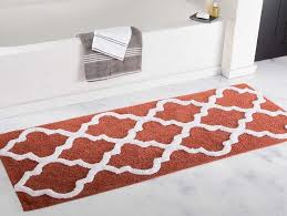 bathroom rug runner 24 60 with brick color home interior