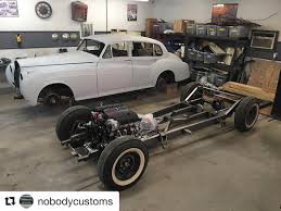 custom bagged truck frames. Nobody Customs Is Working On This Very Cool 1961 Rolls Royce And Ready To  Mount The Body Into Its Custom AME Chassis. Powered By An LS3 6L80E Trans Bagged Truck Frames 8