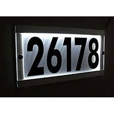 home address plaques. CUSTOM BACK LIT LED ADDRESS SIGN LIGHTED HOUSE NUMBER ILLUMINATED Inside Lighted Address Plaque Idea 2 Home Plaques