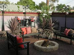Outdoor Fire Pit Area Ideas U2014 Jen U0026 Joes Design  Simple Outdoor Backyard Fire Pit Area