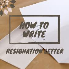 how to write a resignation letter the easy way hubpages