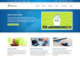 Html Website Templates Impressive 28 Best Web Hosting HTML Templates Web Graphic Design Bashooka
