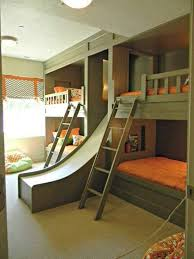 bunk bed with slide and desk. Perfect Desk Elegant Bunk Bed With Slide And Desk 17 Best Ideas About  On L