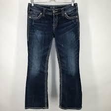 Nice Silver Jeans Suki Surplus 28 X 32 11 99 Picclick