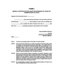 Doctor Certificate For Sick Leave Template Lccorp Co