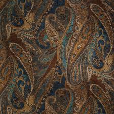 Curtain Fabric Amazoncom Danny Lapis 56 Width Paisley Drapery Fabric Curtain