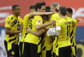 Maybe you would like to learn more about one of these? Dortmund Wolfsburg Secure Champions League Spots