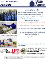 linden will be offering 500 new jobs for union county residents interested candidates should pre register for one of two upcoming informational events