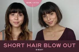 Short Hair Blow Out účesy účesy